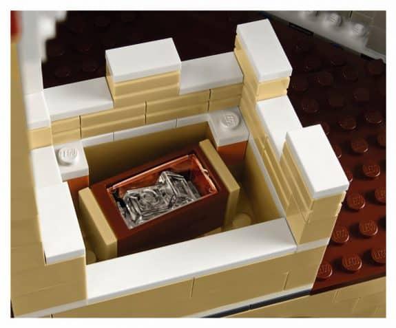 LEGO 71040 The Disney Castle glass slipper
