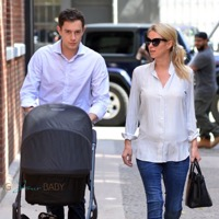 Nicky Hilton & James Rothschild Stroll With Their Little Lady!