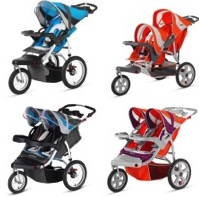 RECALL: 217,000 Pacific Cycle Swivel Wheel Jogging Strollers Due to Crash and Fall Hazards