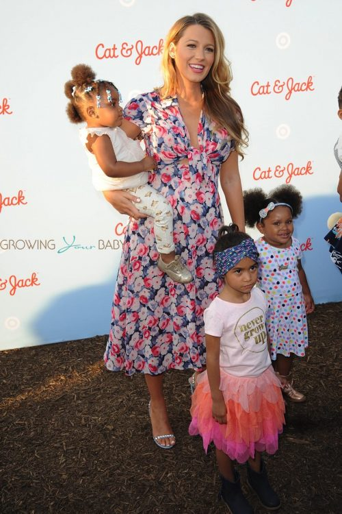 Pregnant Blake Lively at Target's Cat & Jack Launch Celebration
