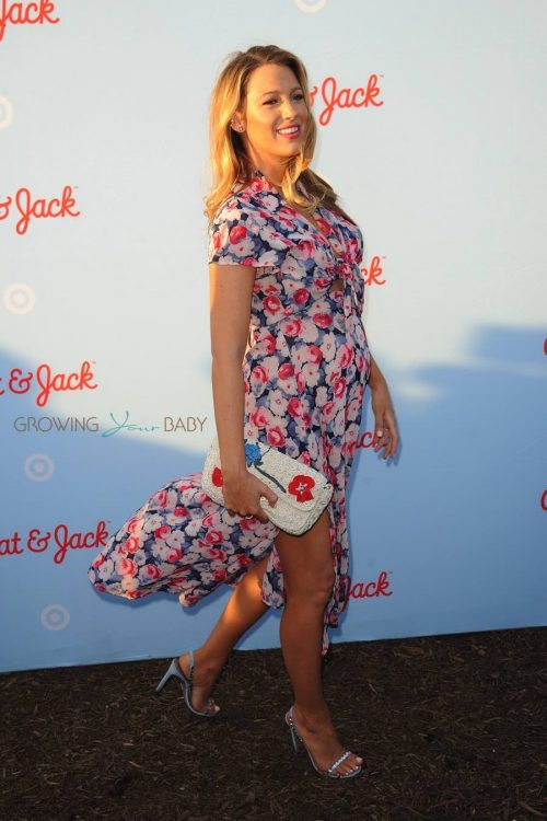 Pregnant Blake Lively at the Target Cat & Jack Launch Celebration