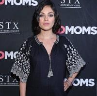 Pregnant Mila Kunis Arrives At Bad Moms Premiere