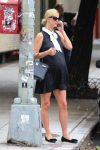 Pregnant Nicky Hilton Rothschild out in New York City