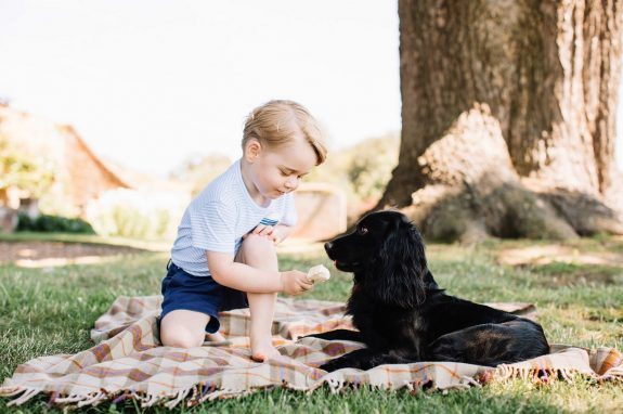 Prince George On His 3rd Birthday