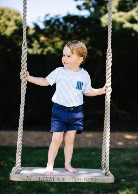 Prince George On His 3rd Birthday!