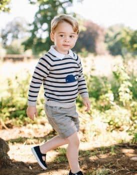 Prince George On His 3rd Birthday