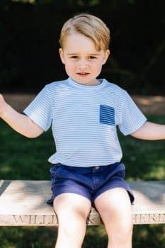 Prince George On His 3rd Birthday!