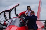 Prince George and his dad the Duke of Cambridge at the RIAT AIRSHOW