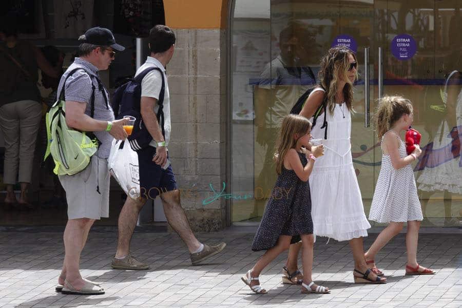 Sarah Jessica Parker And Matthew Broderick Visit Tibidabo