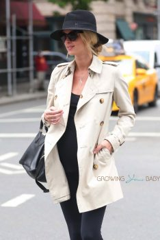 Stylish pregnant mama Nicky HIlton out in NYC