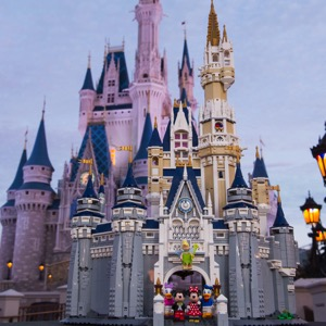 LEGO Announces EPIC Walt Disney World Castle Set