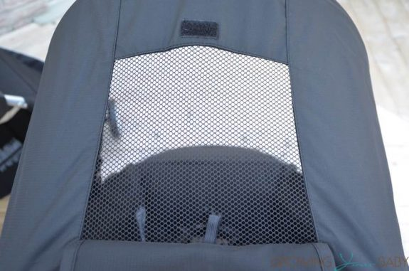 2016 Britax B-agile review - Canopy Mesh Panel