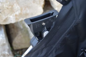 2016 Britax B-agile review - car seat adapter