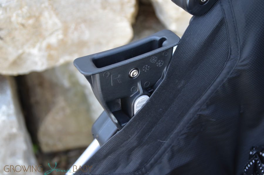 2016 Britax B-agile review - car seat adapter - Growing Your Baby