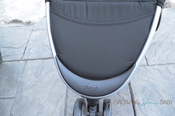 2016 Britax B-agile review - footrest