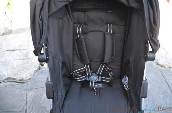 2016 Britax B-agile review - seat