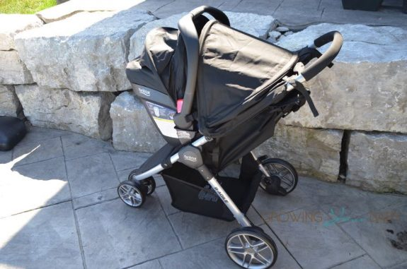 2016 Britax B-agile review - travel system