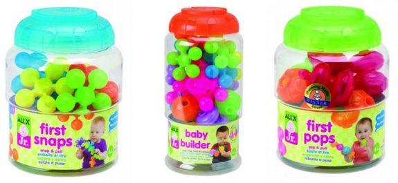 Alex Toys first snaps, pops and builder toys recall