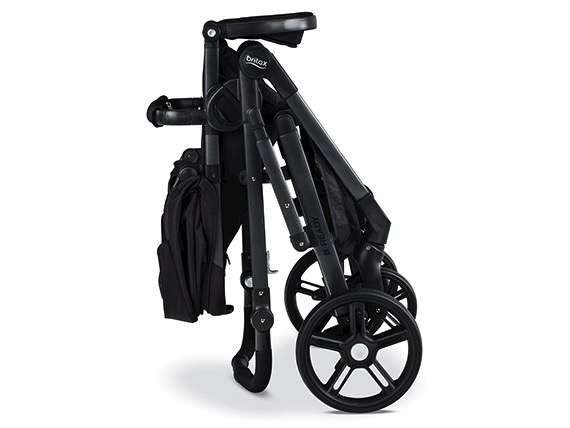 Britax 2017 B-Ready Stroller - folded
