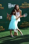 Constance Marie with her daughter Luna at the Pete's Dragon Premiere LA