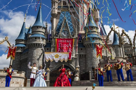 Elena of Avalor Debuts At Walt Disney World