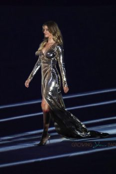Gisele Bundchen at the Opening Ceremony of the Rio 2016 Olympic Games