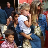 Gisele Bundchen Steps Out in Brazil With Her Kids