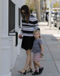 Jennifer Garner out in Santa Monica with daughter Sam Affleck