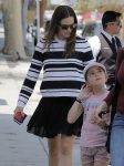 Jennifer Garner out in Santa Monica with daughter Seraphina Affleck
