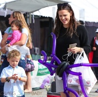 Jennifer Garner Hits The Market With Her Son Sam