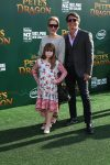 Lou Diamond Phillips with his family at Pete's Dragon Premiere in Hollywood