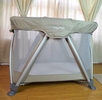 Compact & Chic Nuna's Sena Mini Playard Fits Into Any Decor Or Space! {Video}