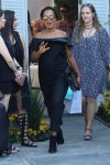 Pregnant Kerry Washington arrives at INSTYLE 'Day of Indulgence' Party