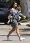 Pregnant Mila Kunis Running Errands In Los Angeles
