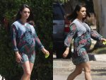 Pregnant Mila Kunis Steps Out In Los Angeles