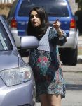 Pregnant Mila Kunis out Running Errands In LA