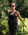 Pregnant Olivia Wilde Out For Lunch In NYC