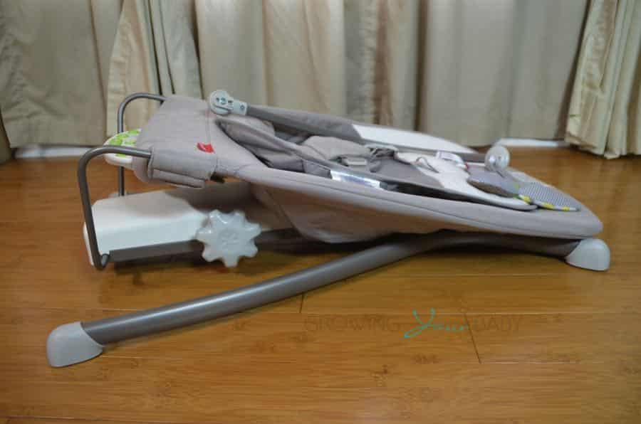 1ed9198123c Skip Hop s Uplift Multi-level Baby Bouncer - folded - Growing Your Baby