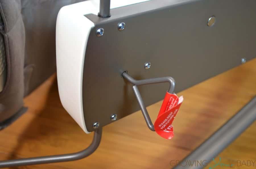 ce664046a49 Skip Hop s Uplift Multi-level Baby Bouncer - key to fold bouncer ...