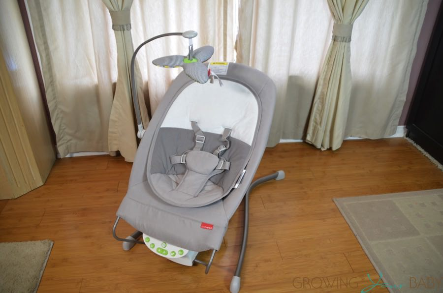 Skip Hop's Uplift Multi-level Baby Bouncer