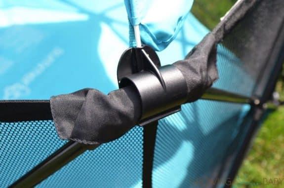 Summer Infant Pop 'n Play Ultimate Playard - canopy hook