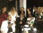 Swizz beatz, alicia keys, jay-z, beyonce, Kanye West, Kim Kardashian, Sean Combs and Cassie.
