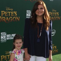 Celebrities At The Premiere of Pete's Dragon