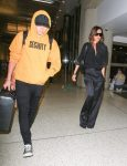 Victoria Beckham at LAX with son Brooklyn