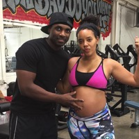 Angela Simmons Bares Her Belly in LA