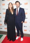 Olivia WIlde and Jason Sudeikis at the TIFF premiere of Colossal