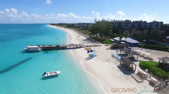 Aerial Photo of Beaches Turks and Caicos