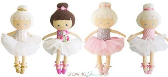 Alimrose ballerina doll