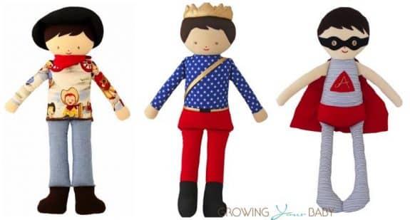 Alimrose boy's dolls