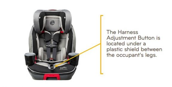 Evolve Booster Seat recall